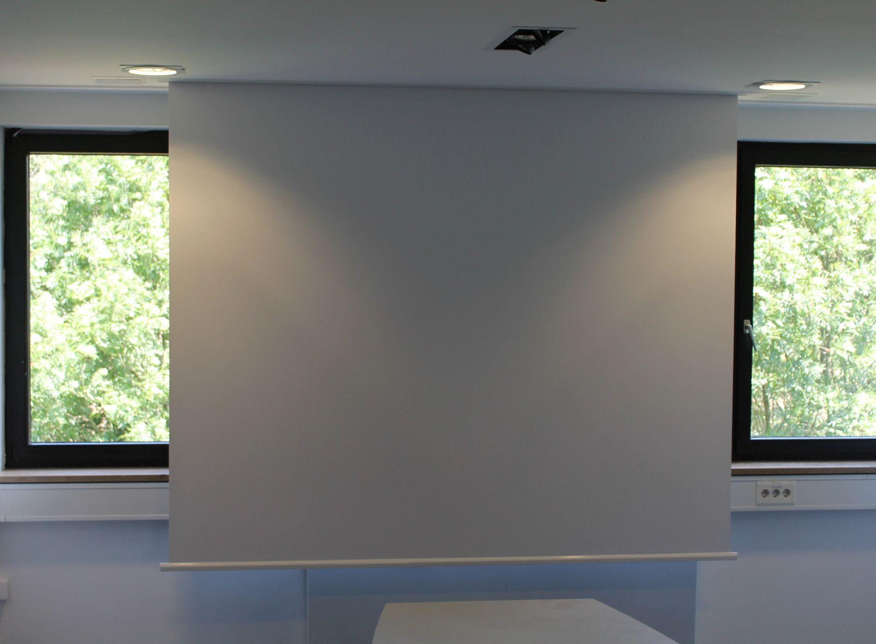 Deckeneinbau Leinwand Deckenmontage Leinwande Buhnenvorhang Elektrisch